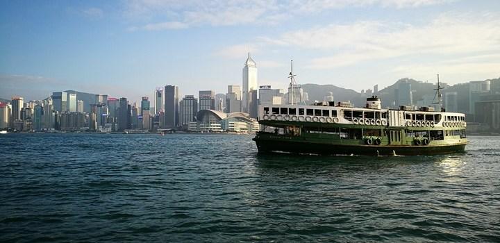 HK-天星小輪 承載港人來往兩岸 欣賞維多利亞港美景