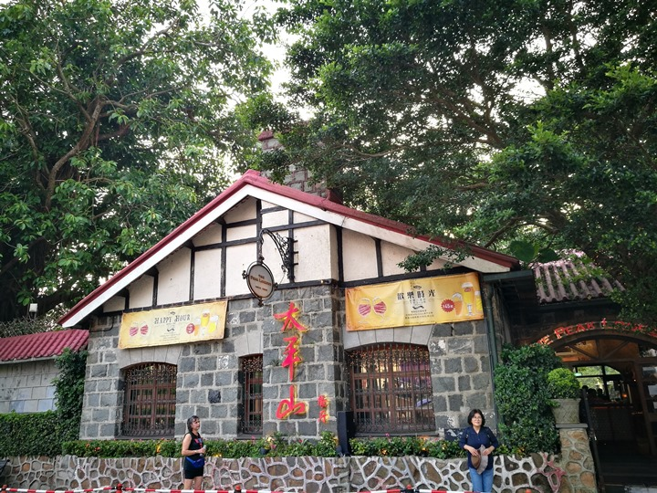 thepeak02 HK-擁擠的太平山The Peak 太平山夜景香港城市的擁擠