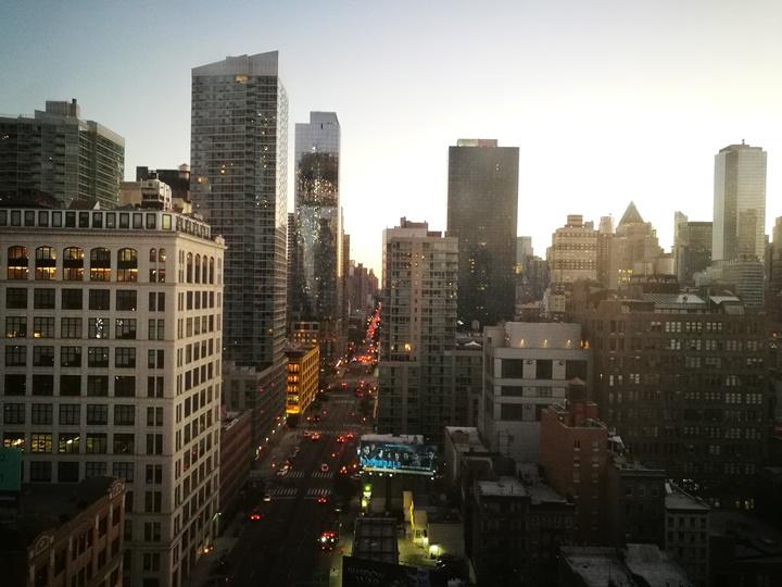 4pointsnyc23 New York-果真大蘋果之紐約真好玩 Four Points by Sheraton Manhattan Midtown West簡單舒適好睡的商務飯店
