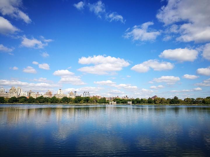 centralpark04 New York-果真大蘋果之紐約真好玩 中央公園 躺著曬太陽也愜意的好所在