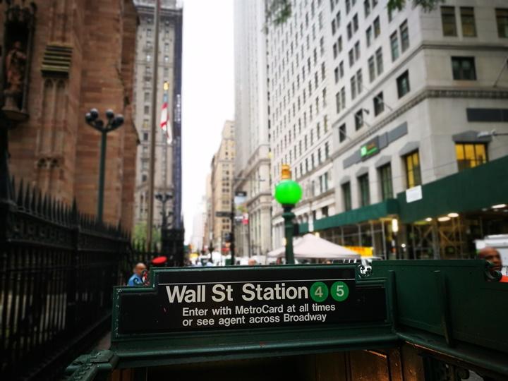 wallstreet2321 New York-紐約真好玩之華爾街的金融遊戲/帶領股市向上的金牛/無所謂的無畏女孩