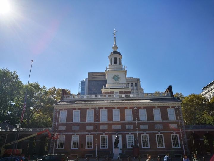 Philly07 Philadelphia-費城 自由鐘/獨立廳&賓大U Penn 美利堅合眾國的開端