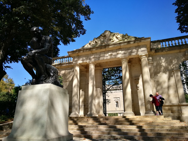 Philly23 Philadelphia-羅丹博物館看雕塑/費城藝術博物館 深植人心的拳王洛基拍攝處