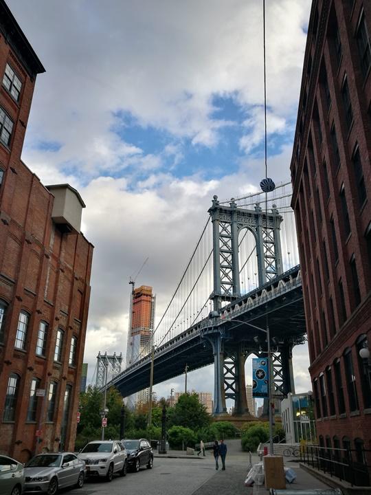 dumboo08 New York-果真大蘋果之紐約真好玩 布魯克林橋下 網紅聖地Dumbo&渡船碼頭賞曼哈頓夜景