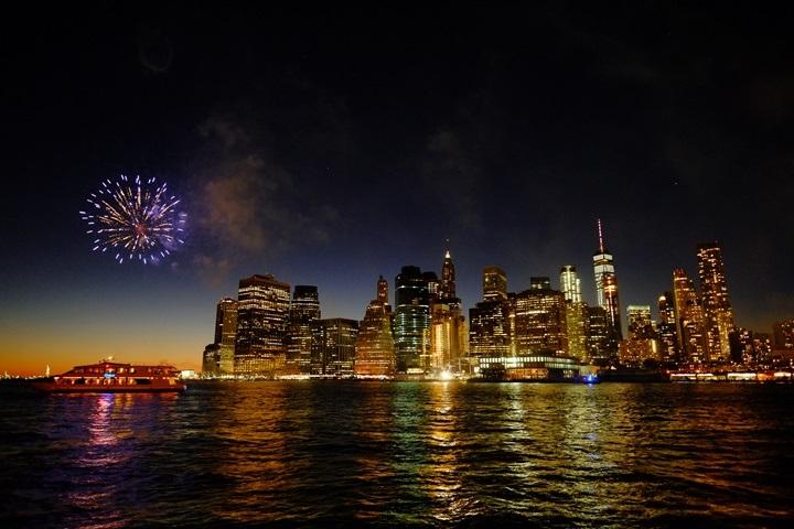 dumboview11 New York-果真大蘋果之紐約真好玩 布魯克林橋下 網紅聖地Dumbo&渡船碼頭賞曼哈頓夜景