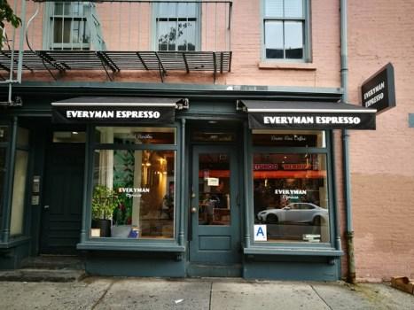 New York-果真大蘋果之紐約真好玩 Everyman Expresso好好喝的冰咖啡