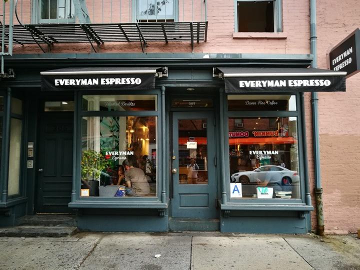 everyman02 New York-果真大蘋果之紐約真好玩 Everyman Expresso好好喝的冰咖啡
