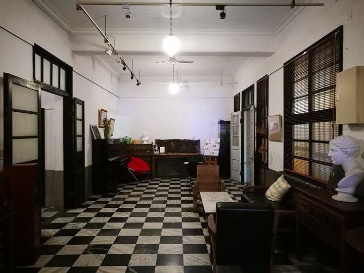 8cafe18 八德-八塊畫室咖啡 日治時代診所 舊建築裡的文青風