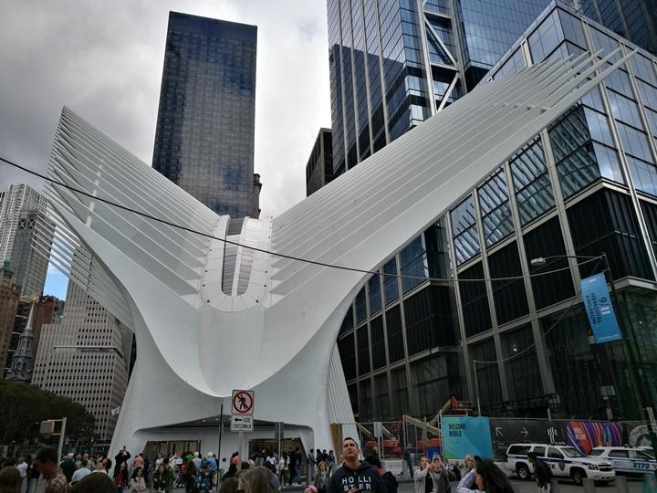 WTC460216 New York-果真大蘋果之紐約真好玩 重生的世貿中心1 WTC 超美的Oculus車站