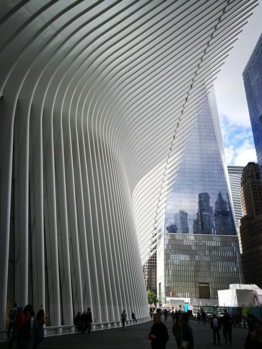 WTC460219 New York-果真大蘋果之紐約真好玩 重生的世貿中心1 WTC 超美的Oculus車站