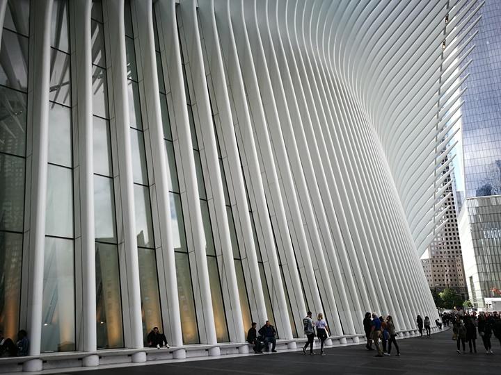 WTC460220 New York-果真大蘋果之紐約真好玩 重生的世貿中心1 WTC 超美的Oculus車站