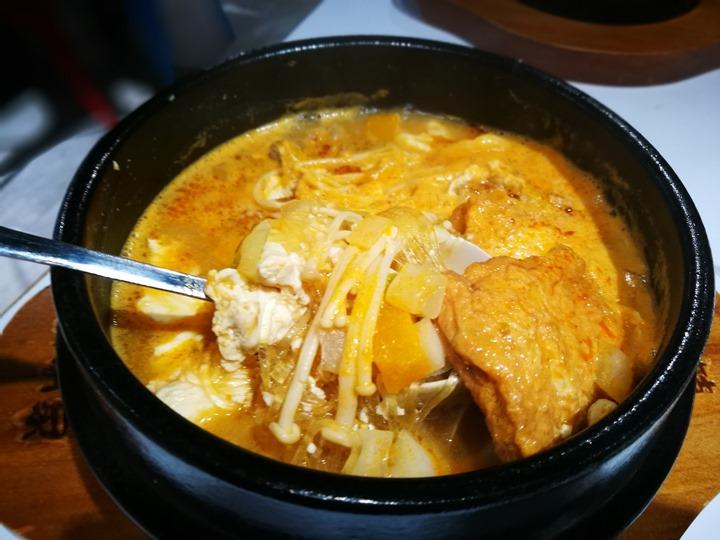 koreanfood7 中壢-韓本家 簡單的韓式料理但份量不大(中壢家樂福店)