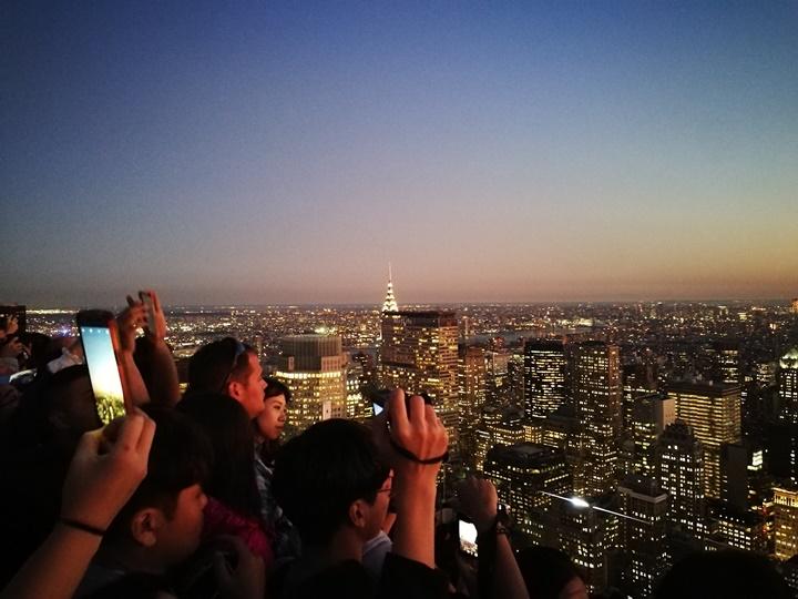 rocktop23 New York-果真大蘋果之紐約真好玩 The Top of the Rock洛克斐洛大樓 日景夜景都美麗