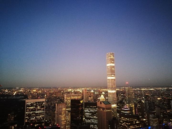 rocktop24 New York-果真大蘋果之紐約真好玩 The Top of the Rock洛克斐洛大樓 日景夜景都美麗