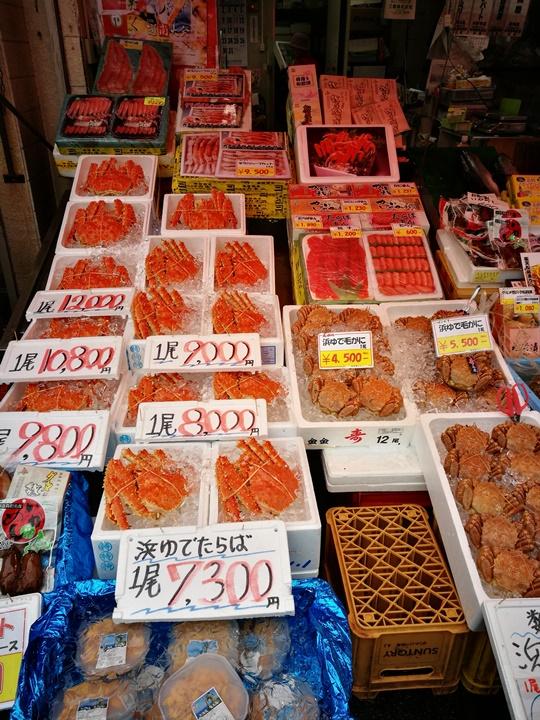hakodatemorningmarket05 Hakodate-有趣函館朝市 きくよ食堂的海鮮丼飯 北海道必吃