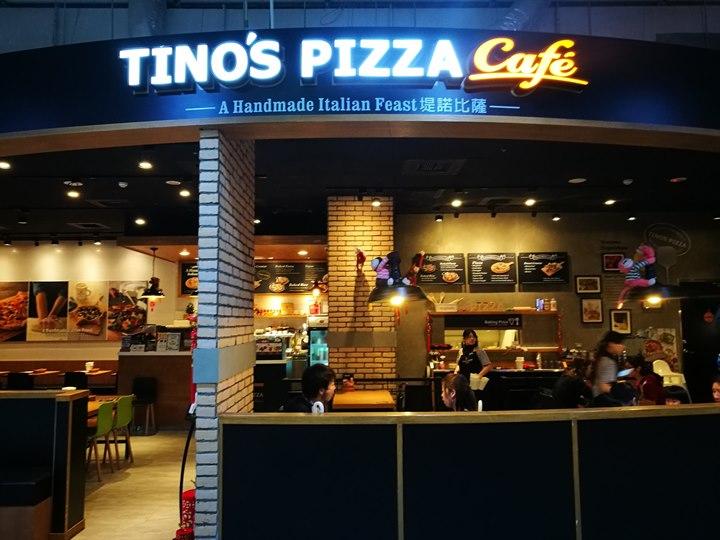 tinopizza01 中壢-Tino Pizza Cafe特色披薩 烤飯麵也都不賴(中原家樂福店)