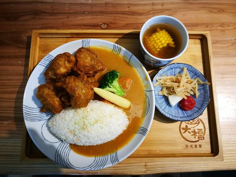 dafu4 竹北-大福 關東煮新鮮口感好  咖哩簡單家常 小巧日式食堂
