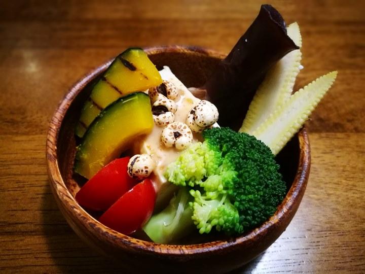 vegetablebar22121 竹北-喫菜吧Vegetables Bar溫暖的空間細緻的服務健康的概念好吃的餐點