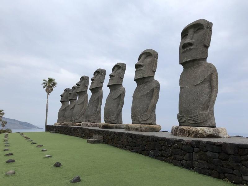 MOAI07 Miyazaki-SunMesse日南 宮崎必訪 探訪來自復活島的稀客...全球唯一復刻版MOAI