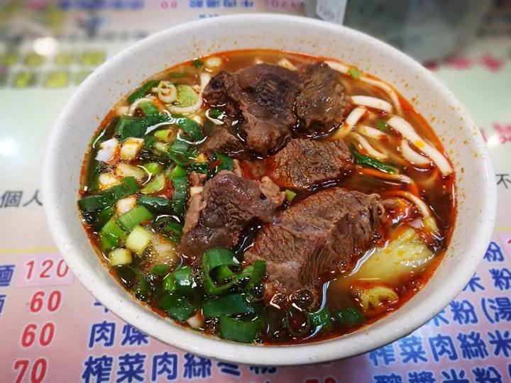 xinmingbeef09 中壢-新明老牌牛肉麵 肉Q彈好吃 湯稍鹹