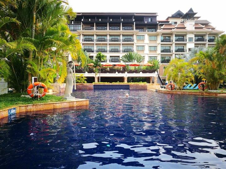 angkormiracle21 Siem Reap-暹粒Angkor Miracle Reflection Club中韓大媽過境無敵吵雜的早餐