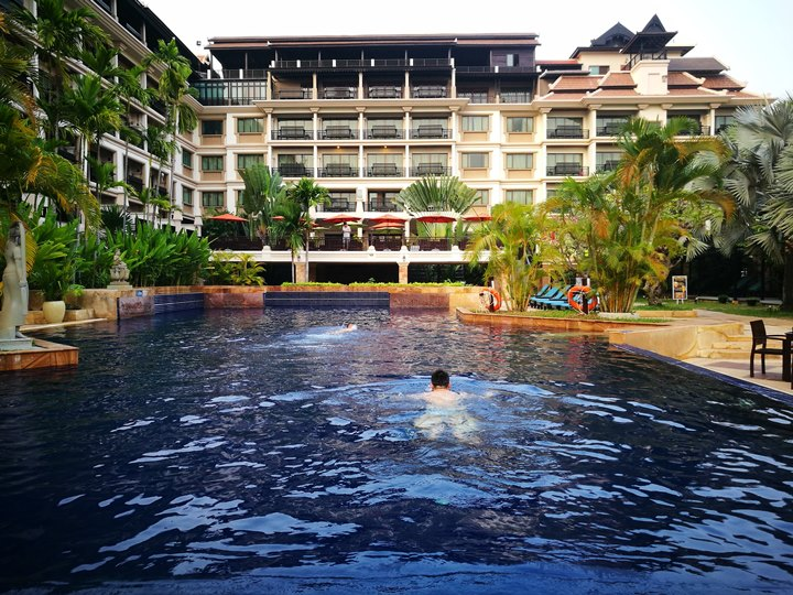 angkormiracle37 Siem Reap-暹粒Angkor Miracle Reflection Club中韓大媽過境無敵吵雜的早餐