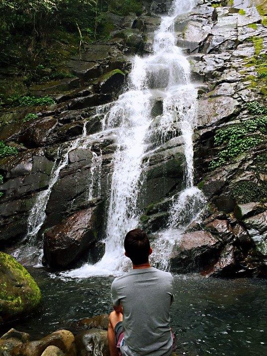 chingshan 石門-青山瀑布步道 輕鬆愜意舒適賞瀑布