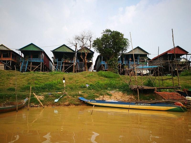 tonlesap11 Siem Reap-Tonle Sap洞里薩湖 柬埔寨的魚米鄉 落後環境中的知足生活