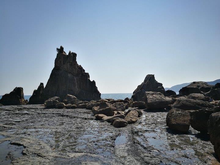 Hashiguiiwa0104-1 Kushimoto-橋杭岩 和歌山串本地質奇景