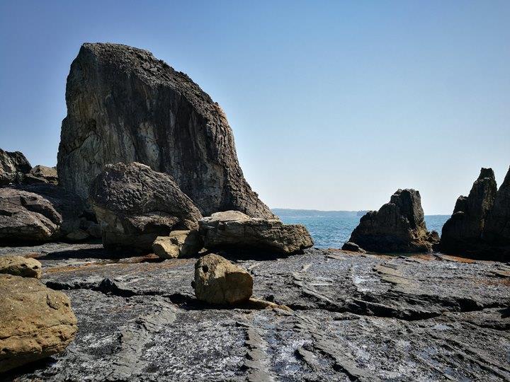 Hashiguiiwa0105-1 Kushimoto-橋杭岩 和歌山串本地質奇景