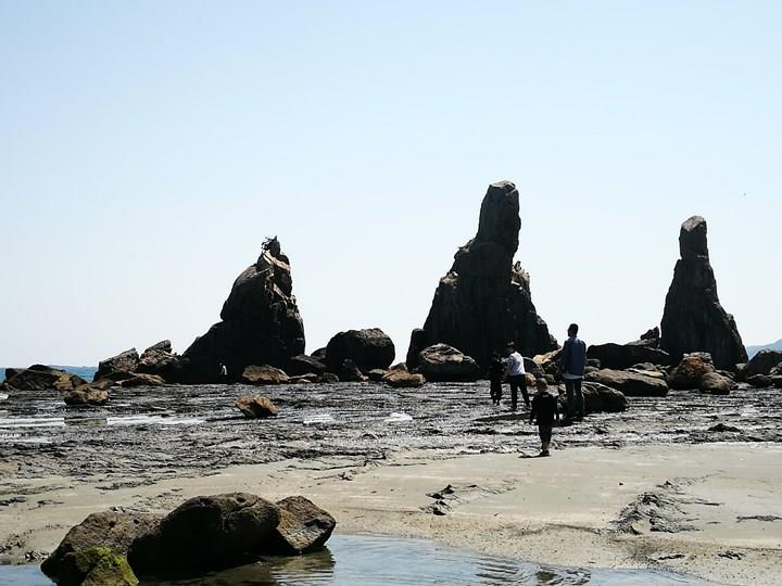 Hashiguiiwa0123-1 Kushimoto-橋杭岩 和歌山串本地質奇景