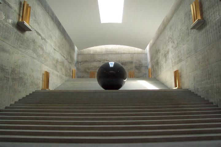 chichu14 Naoshima-地中美術館 藝術直島 安藤忠雄大作 建築美展覽有深度