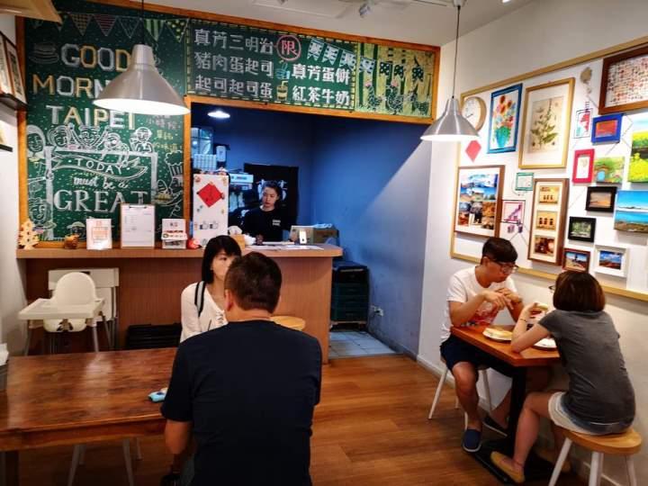 janefang08 信義-真芳碳烤吐司 鬧區中靜巷的人氣小店