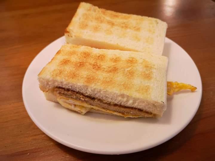 janefang15 信義-真芳碳烤吐司 鬧區中靜巷的人氣小店