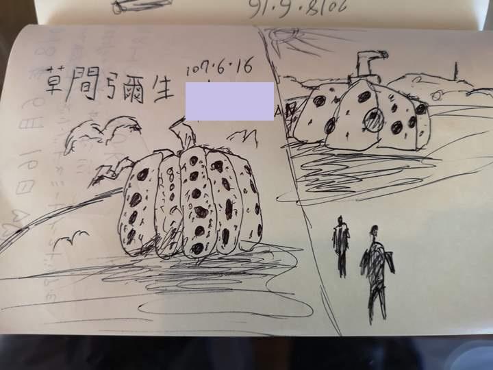 konichiwa21 Naoshima-Cafe Konichiwa直島本村港旁 可愛海景咖啡館