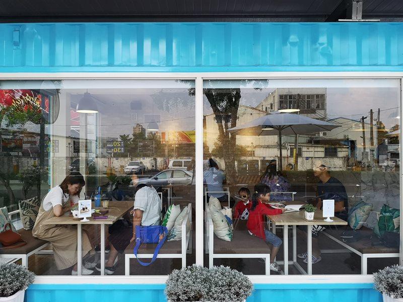 materialcafe09 中壢-素材日常咖啡Material Cafe 簡單貨櫃屋精巧美好的設計
