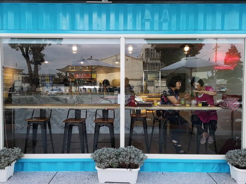 materialcafe10 中壢-素材日常咖啡Material Cafe 簡單貨櫃屋精巧美好的設計