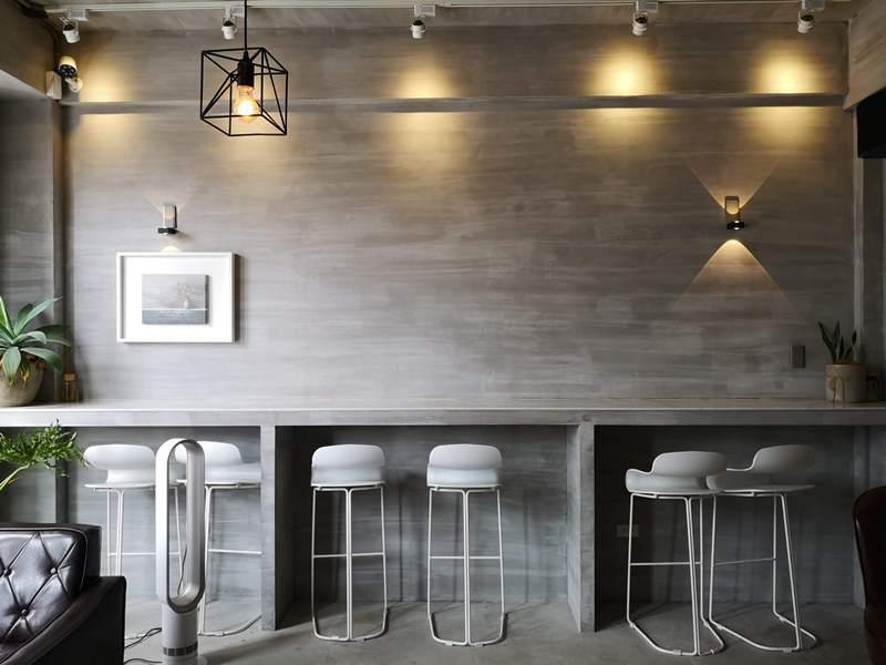 rollingstone14 中壢-流石咖啡 簡單清水模工業風