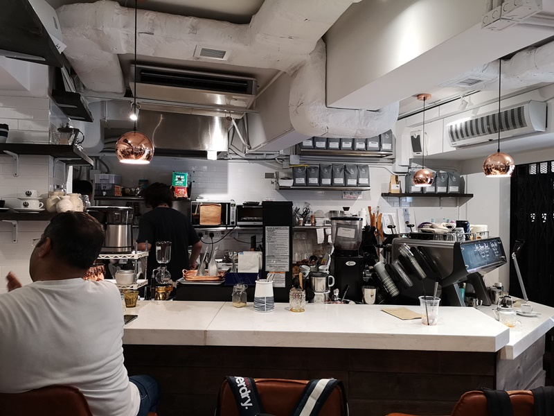 coffeerosaterlab04 HK-Coffee Roastery Lab上環簡單的一杯咖啡香