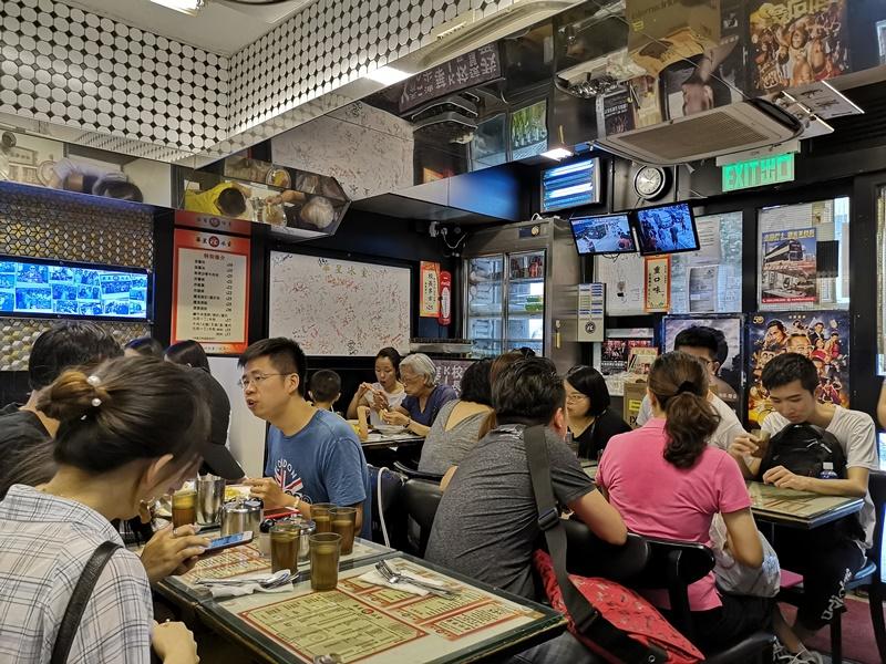 hwaxin09 HK-華星冰室 陳奕迅背書 沒吃過華星怎說來過香港!!