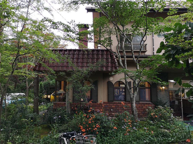 maruyama03 Karuizawa-來喝冠軍咖啡 丸山咖啡輕井澤本店 綠意盎然的林間小屋 環境佳咖啡香