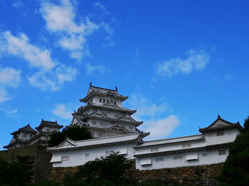 himeji04 Himeji-姬路城 絕美白鷺城 世界文化遺產