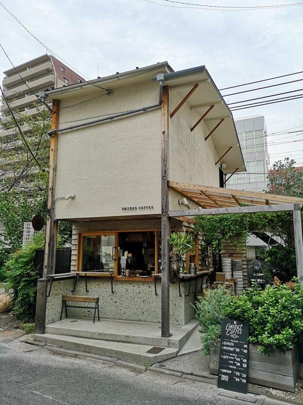 onibuscoffee01 Nakameguro-Onibus Coffee中目黑的老屋咖啡館 伴隨電車聲響的咖啡香