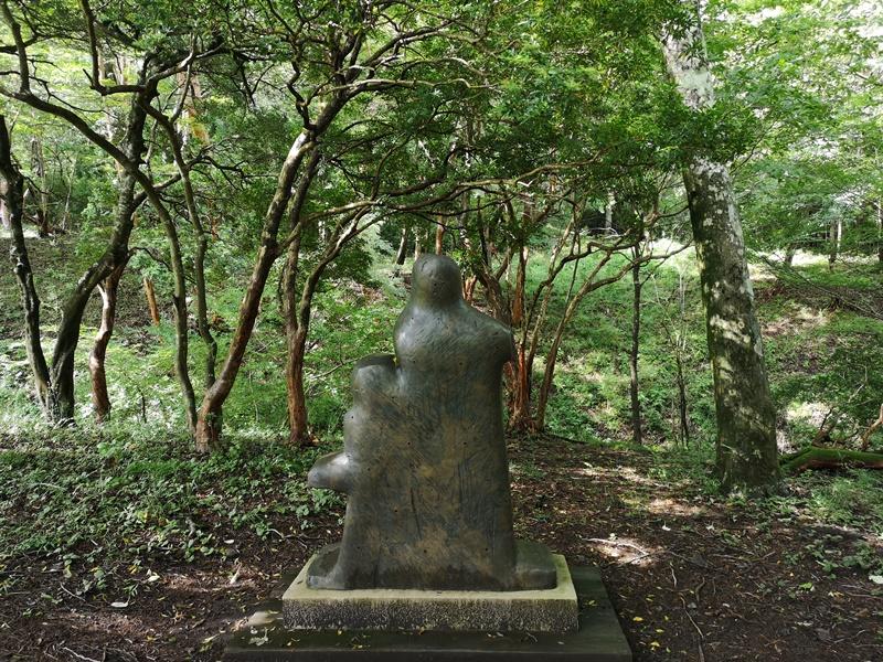 polamuseum28 Hakone-箱根Pola Museum of Art森林中的綠寶石 自然與人文兼具的美術館