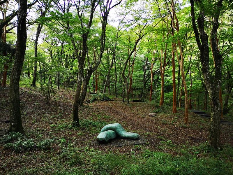 polamuseum33 Hakone-箱根Pola Museum of Art森林中的綠寶石 自然與人文兼具的美術館