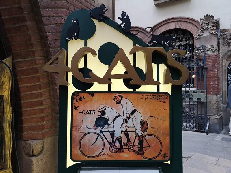 bcn4cats01 Barcelona-巴塞隆納四隻貓咖啡 Els Quatre Gats感受藝文風情的咖啡館