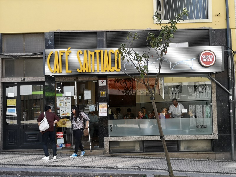 cafesantiago02 Porto-Cafe Santiago波多必吃特色溼答答三明治...熱量爆表