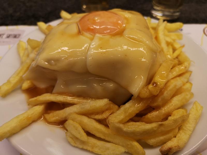 cafesantiago09 Porto-Cafe Santiago波多必吃特色溼答答三明治...熱量爆表