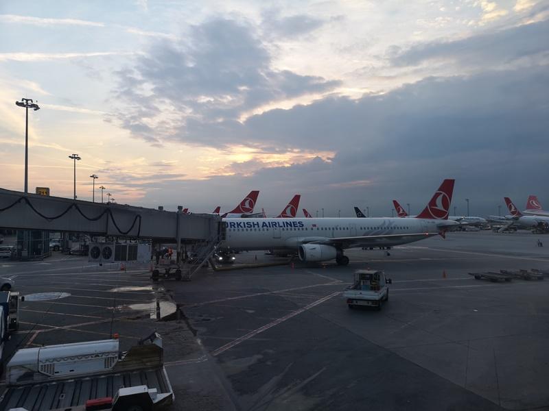 flytk025380155 201810台北伊斯坦堡巴塞隆納 TK025商務艙飛行