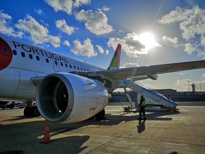 flytp01 201810葡萄牙航空TP364只能說網路說的都是真的...只有delay還是delay